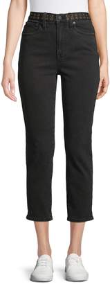 Madewell Classic Grommet Straight Jeans