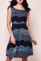 Yumi Tricolor Lace Dress