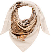 Hermes Jungle Love Cashmere Silk Shawl
