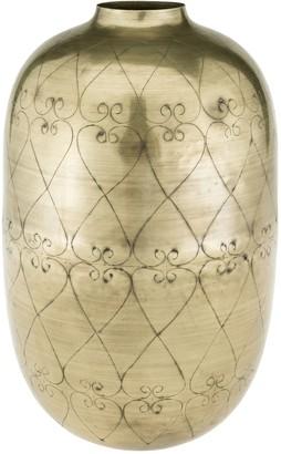 Eightmood Iron Vase - Gold