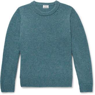 Acne Studios Kai Melange Wool Sweater