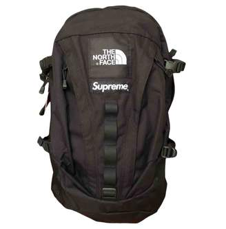 The North Face Supreme X Black Cloth Travel bags
