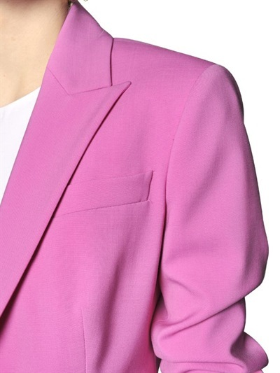 DSquared Stretch Wool Toile Jacket
