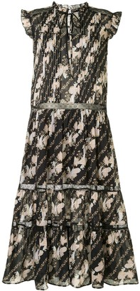 We Are Kindred Bronte tiered midi dress