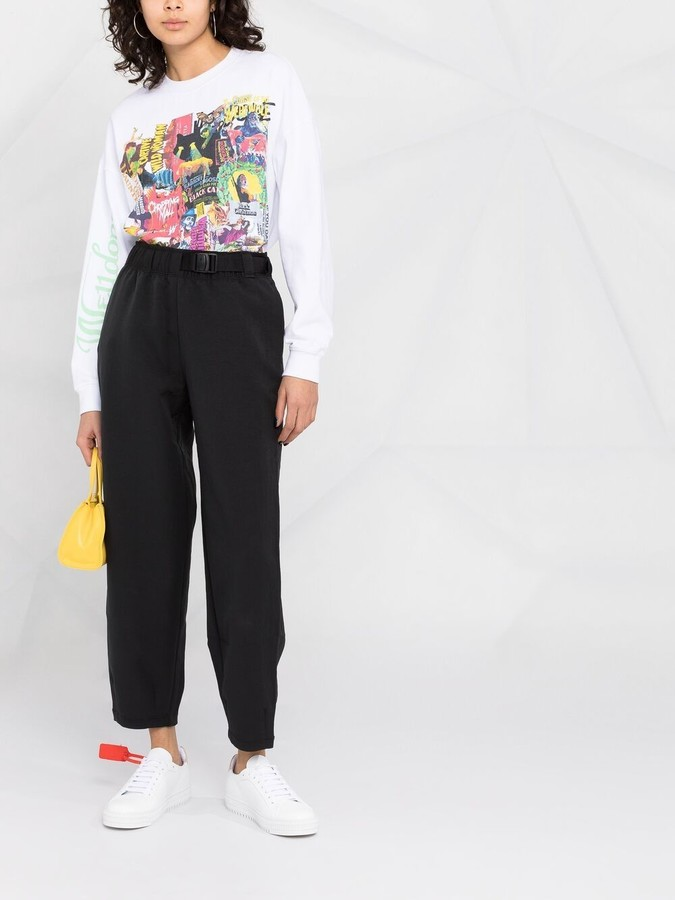 Thumbnail for your product : Nike Sportswear Tech Pack cropped trousers