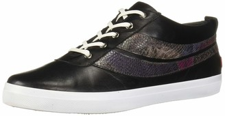 Marc Joseph New York Women's Leather Laceup Fashion Bowery Sneaker