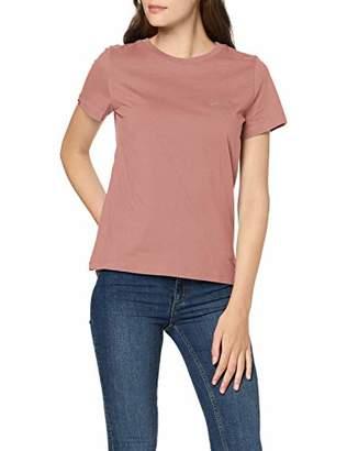 Superdry Women's Ol Elite Crew Neck Tee T-Shirt,8 (Size: X-Small)
