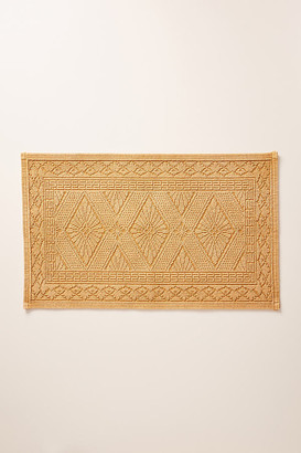 Anthropologie Misona Bath Mat By in White Size S