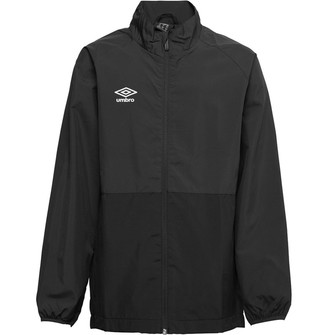 Umbro Junior Boys Training Shower Jacket Carbon/Black