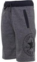 Converse Boys Woven Waistband Shorts Marled Grey