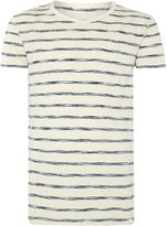 Lee Men's Regular fit space dye stripe t shirt