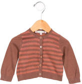 Bonpoint Girls' Striped Knit Cardigan