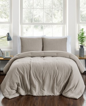 Pem America Closeout! Jersey 3-Pc. Full/Queen Comforter Set Bedding