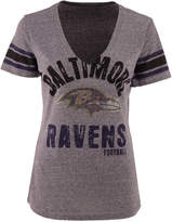 G3 Sports Women's Baltimore Ravens Any Sunday Rhinestone T-Shirt