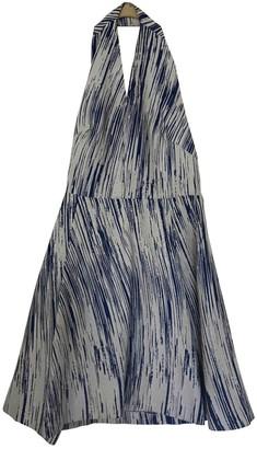 Kenzo Blue Cotton Dresses