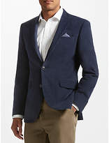 John Lewis Moleskin Tailored Jacket, Navy