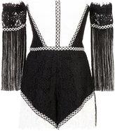Alexis short off-shoulder dress