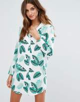 Asos Nightshirt in Tropical Print