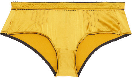 Elle Macpherson Intimates Casablanca stretch-silk satin briefs