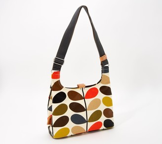 Orla Kiely Coated Cotton Mini Sling Crossbody Bag