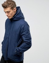 Pretty Green Jacket With Hood In Navy