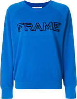 Frame logo sweatshirt