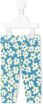 Stella McCartney floral print leggings - kids - Cotton - 6 mth