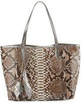 Nancy Gonzalez Erica Python Shopper Tote Bag