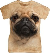 The Mountain Junior's Pug Face Graphic T-Shirt