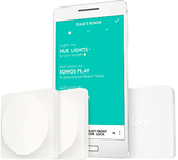 Logitech Pop Home Switch Starter Pack with 2 Switches & Bridge, White