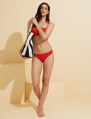 Marks and Spencer Side Ruched Hipster Bikini Bottoms