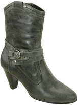 David Tate Gray Antique Columbia Leather Boot