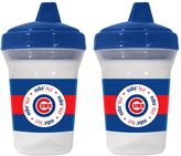Baby Fanatic Chicago Cubs 2-Pack Sippy Cups