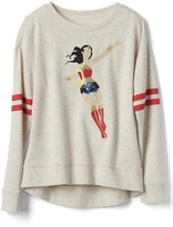 Gap Junk Food Wonder Woman pullover