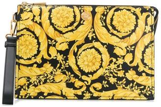 Versace Barocco print pouch