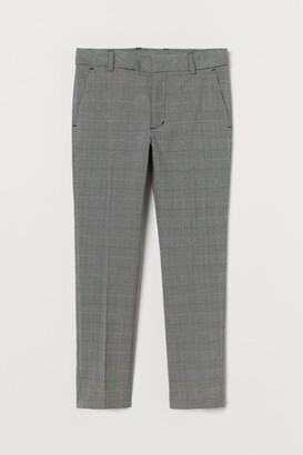 H&M Textured Suit Pants