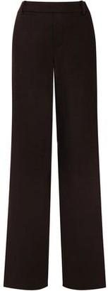 Vince Wool-blend Jersey Straight-leg Pants