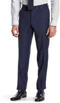 Ted Baker Jarret Blue Windowpane Suit Separates Wool Trouser