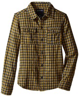 True Religion Woven Plaid Workwear Shirt (Toddler/Little Kids)