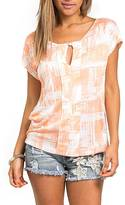 Sweet Claire Peach Dortman Sleeve Top