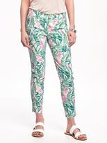 Old Navy Patterned Pixie Chinos for Women