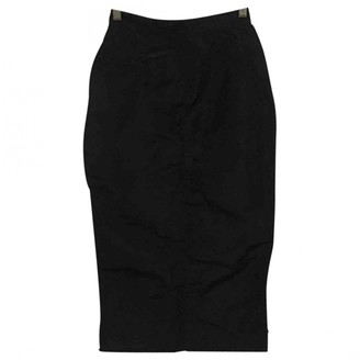Jean Paul Gaultier Black Polyester Skirts