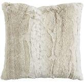 Pier 1 Imports Fuzzy Faux Snow Leopard Pillow
