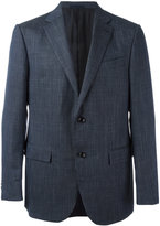 Ermenegildo Zegna checked blazer - men - Silk/Linen/Flax/Cupro/Wool - 52