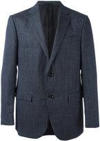 Ermenegildo Zegna checked blazer - men - Silk/Linen/Flax/Cupro/Wool - 54