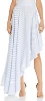 MLM Label Boston Stripe Asymmetric Skirt