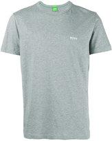 HUGO BOSS embroidered logo T-shirt - men - Cotton - XL
