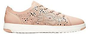 Cole Haan Women's GrandPro Laser Cut Leather Sneakers