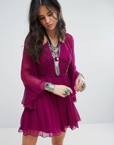 Free People Aquarius Layered Party Dress