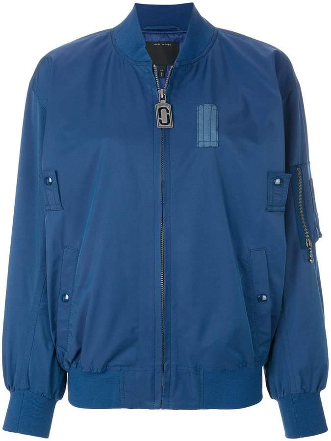 Marc Jacobs shell bomber jacket